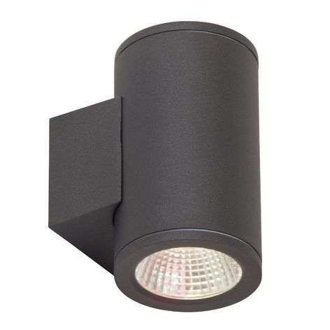 Two-bulb Argo LED outdoor wall light
