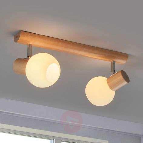 Two-bulb Karin ceiling lamp