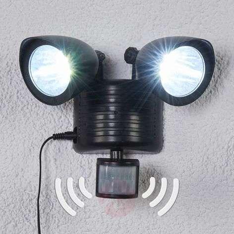 Two-bulb LED solar spotlight Tamar