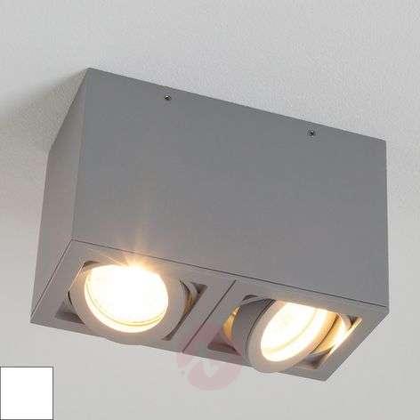 Two-bulb LIGHT BOX 2 ceiling spotlight