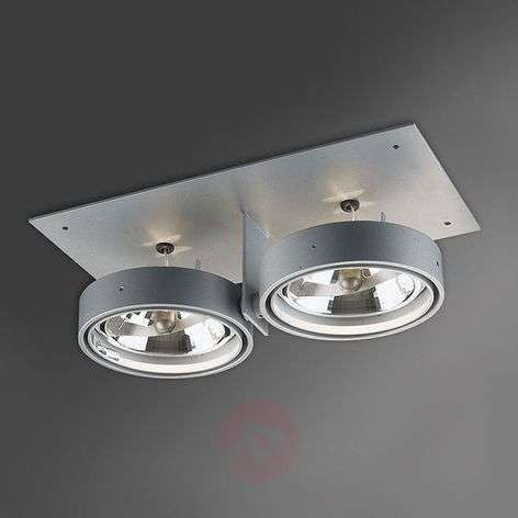 Two-bulb low-volt recessed light Grid in ZB2 QR