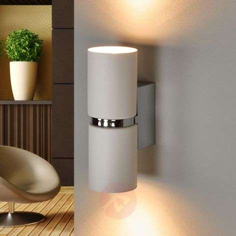 Two-bulb Passa LED wall light