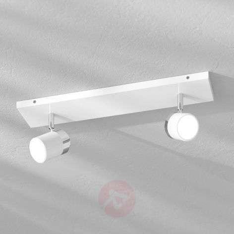 Two-bulb wall and ceiling spotlight Kardo, IP44
