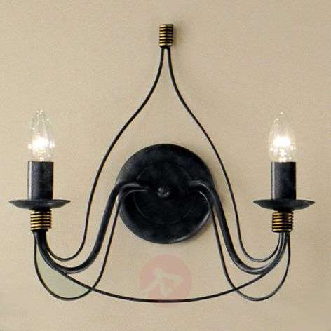 Two-bulb wall light FILO