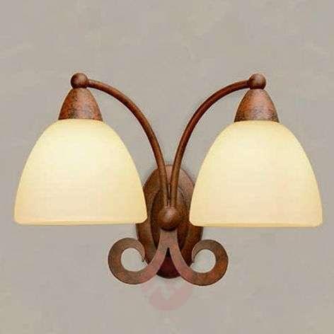 Two-bulb wall light Ginevra