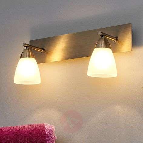 Two-light bathroom wall light Nikla