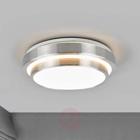 Two-tier, round LED ceiling light Huberta