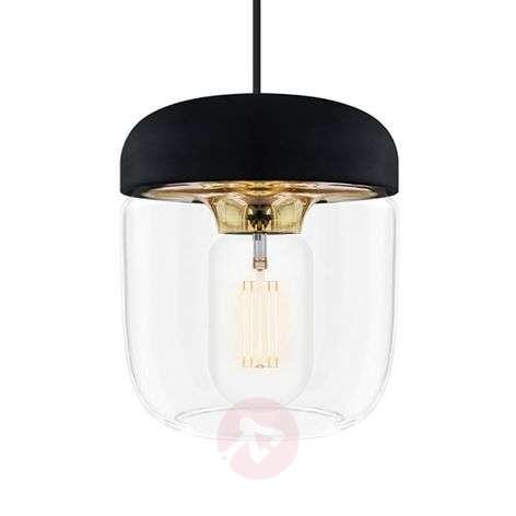 UMAGE Acorn hanging lamp black/brass