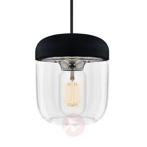 UMAGE Acorn hanging light black/steel-9521078-31