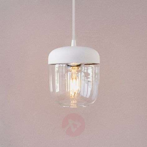 UMAGE Acorn hanging light white/brass