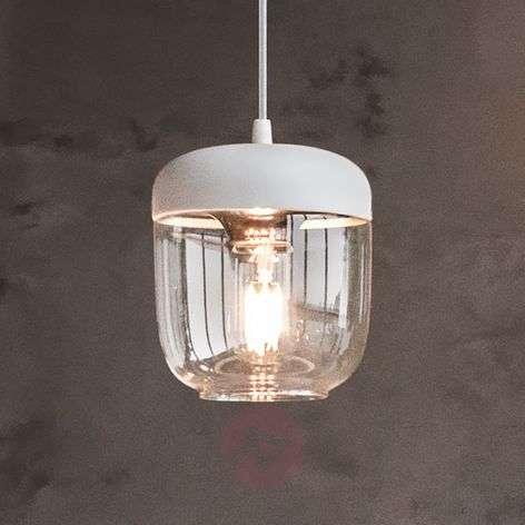 UMAGE Acorn hanging light white/copper-9521076-31