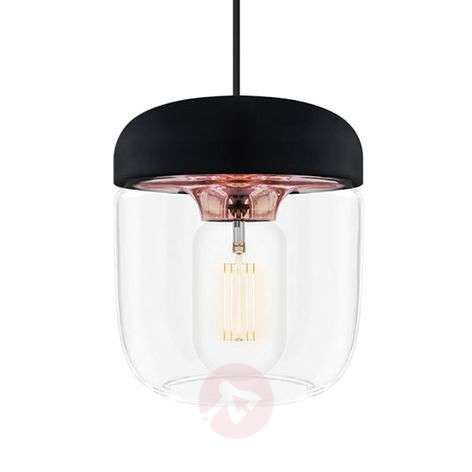 UMAGE Acorn pendant lamp black/copper
