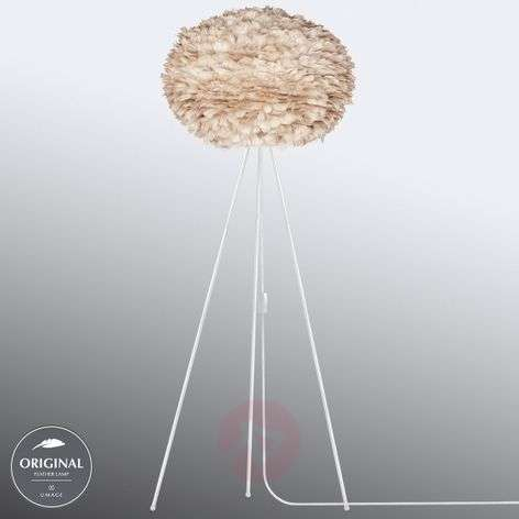 UMAGE Eos large floor lamp tripod light brown