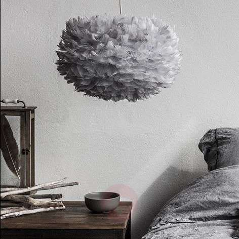 UMAGE Eos medium hanging lamp, light grey