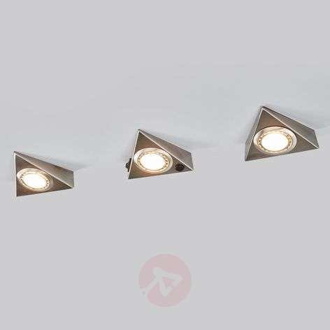 Under-cabinet light TRIANGLE with sensor, 3 set