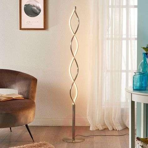 Undulating LED floor lamp Auron
