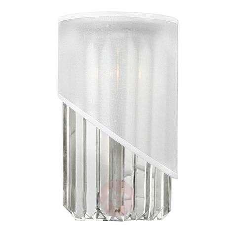 Unusual crystal wall light Gigi