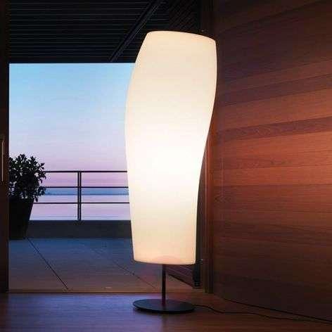 Unusual floor lamp Warm