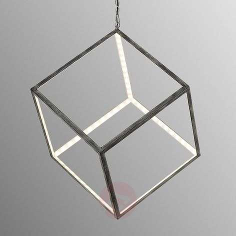 Unusual LED hanging lamp Dice 40 cm-9005290-31