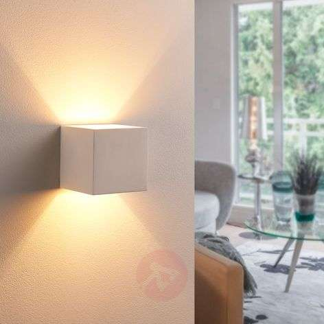 Upward- and downward-shining LED plaster light Kay