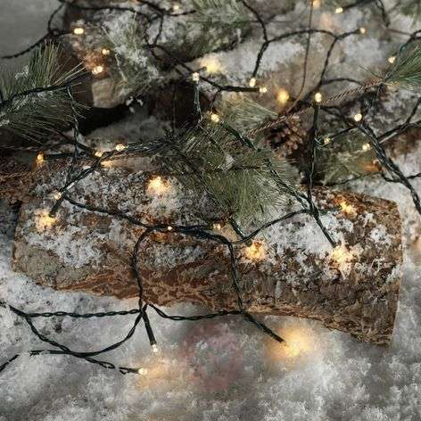 Usable outdoors LED string lights Time Line 40-8577072-31