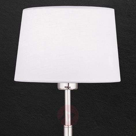 Vardan fabric table lamp with white shade