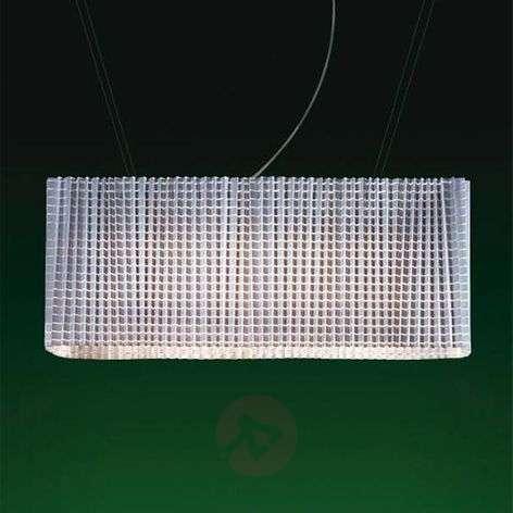 Variable designer hanging light Plissé