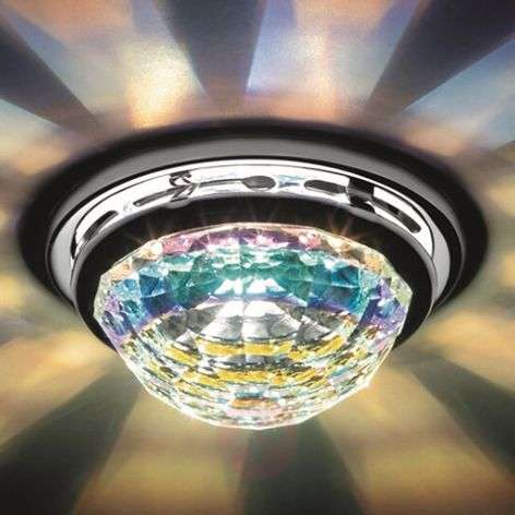 Vega - recessed ceiling light with crystal