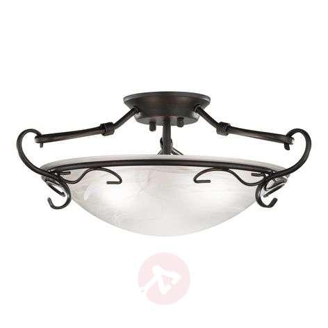 Venturi Ceiling Light 22 cm Antique Rust Colour-4508399-31