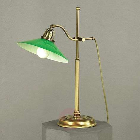 Verdina Table Light in Patina Look Green