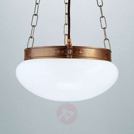 Verne classical-effect hanging light