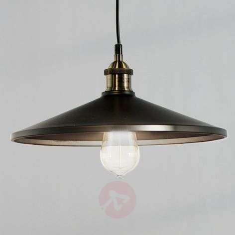 Viktor Pendant Lamp in Aluminium, Black