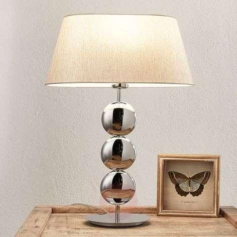 Villeroy & Boch Sofia - table lamp, silver base