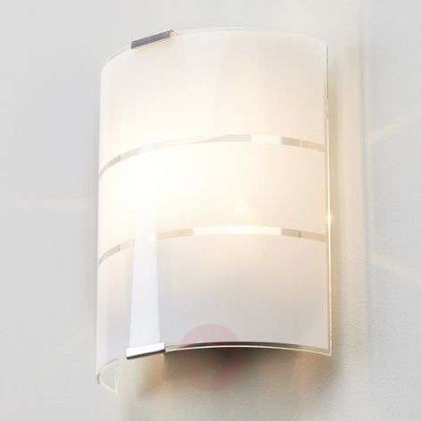 Vincenzo Glass Wall Lamp