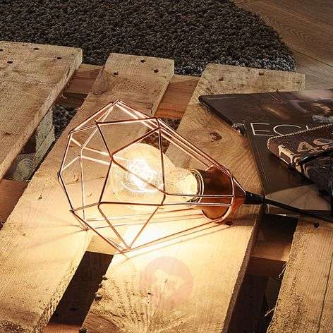 Vintage table lamp Tarbes with copper finish-3031865-31