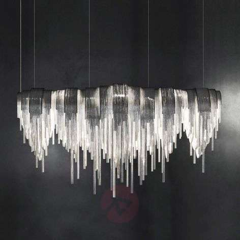 Volver - exclusive LED hanging light, elongated