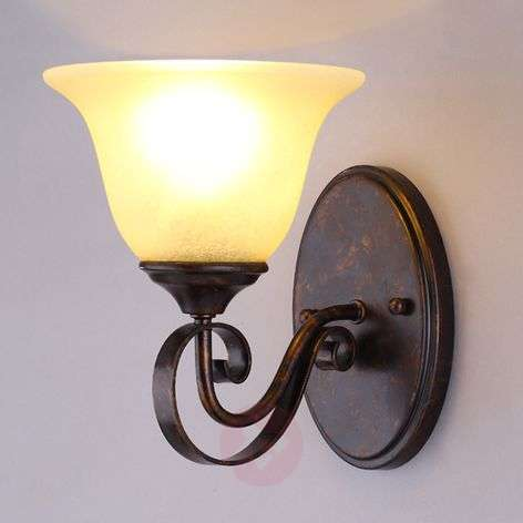 Wall lamp Svera in a country house style