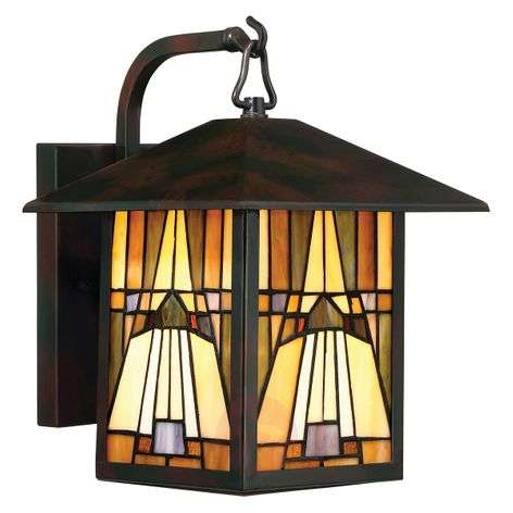 Wall lantern Inglenook in a Tiffany look
