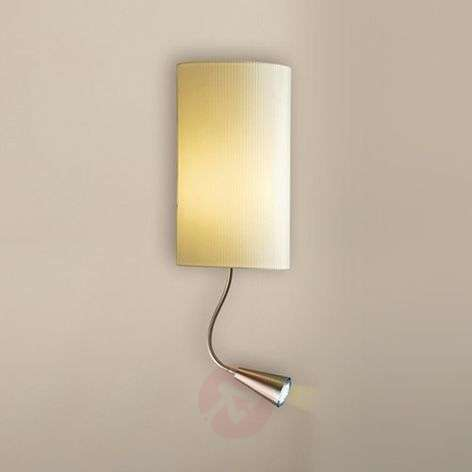 wall light Benito with LED-reading arm
