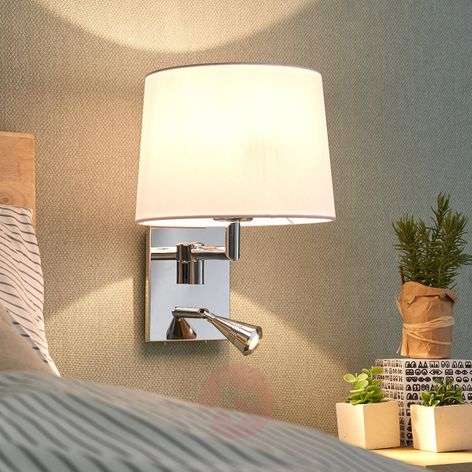 Wall light Bent with reading light