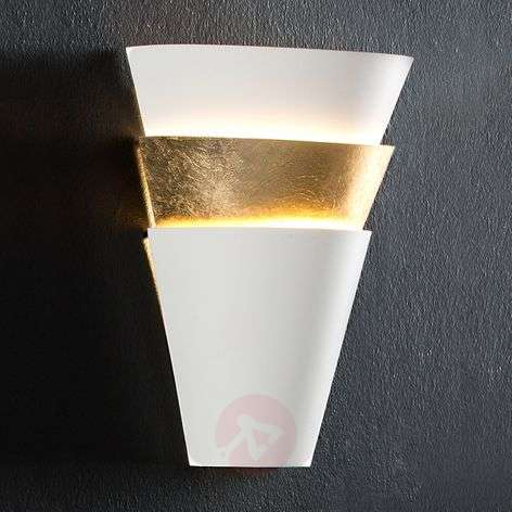 Wall light Isis with gold leaf finish-8582209-31
