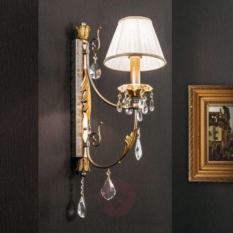 Wall light Miramare with crystals elements