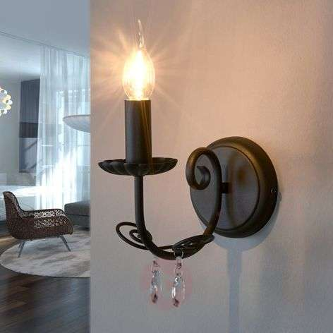 Wall light Sophina with chandelier style