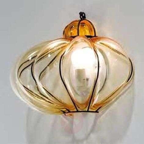 Wall light SULTANO made of murano glass