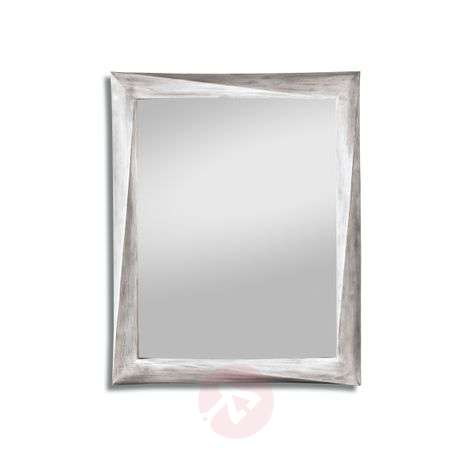 Wall mirror Laura with antique white frame