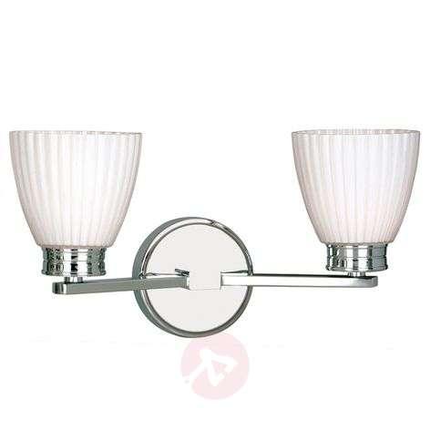 Wallingford - two-bulb bathroom wall light