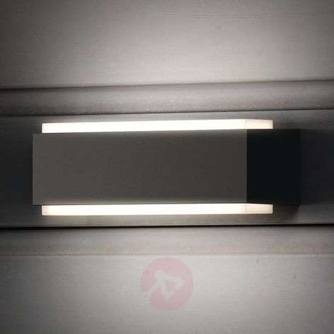 Warm white LED outdoor wall lamp Stratosphere