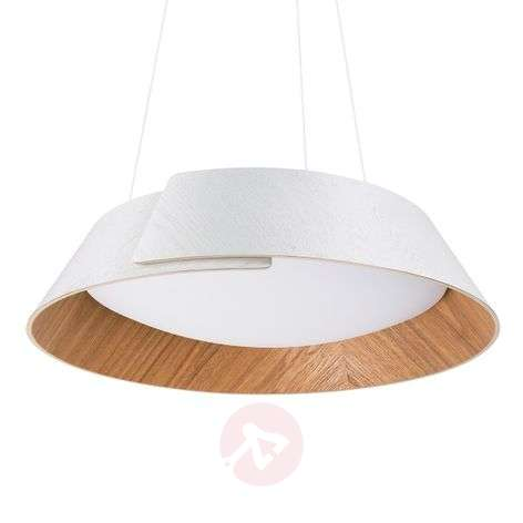 Warm white LED pendant light Nonagon