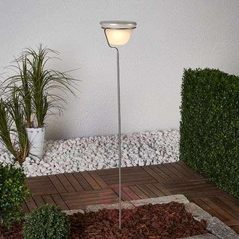 Warm white LED solar plug-in light Tia