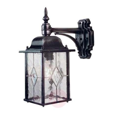 Wexford Outside Wall Light Lantern Shape-3048210-31